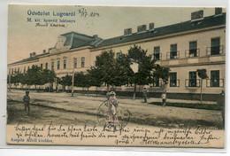 ROUMANIE LUGOSROL LUGOS Lugoj  Usvozlet Animation Rue M Kir Honved Laktanya Quartier Ville 1904 écrite D09 2021 - Romania