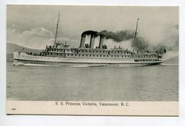CANADA VANCOUVER BC  Bateau S.S Princess VICTORIA   1910   D09 2021 - Vancouver