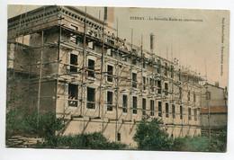 55 STENAY La Nouvelle Ecole En Construction Ouvrier Echaffaudages Bois  Couleur Timb Vers 1910  D09 2021 - Stenay