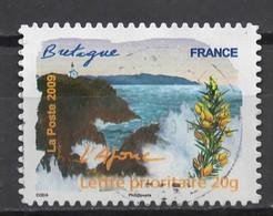 FRANCE : 2009 Oblitéré FLORE DES REGIONS N1 - KlebeBriefmarken