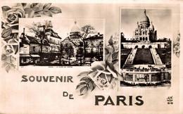 75 SOUVENIR DE PARIS PLACE DU TERTRE ET SACRE COEUR - Greetings From...