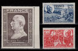 YV 606 à 608 N** Anniversaire Du Marechal Cote 6,10 Euros - Ungebraucht