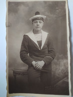 Portrait Marin MARINE MILITAIRE - Croiseur Cuirassé EDGAR QUINET - Guerre 14-18 - Guerra 1914-18