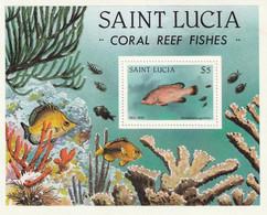 SAINTE LUCIE - Faune, Poisson Des Récifs Coraliens - MNH - St.Lucia (1979-...)