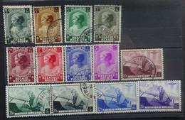 BELGIE  1937     Nr. 458 - 465  /  466 - 470       Gestempeld     CW 19,00 - Gebruikt