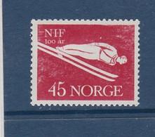 SKI JUMPING SKISPRINGEN  NORWAY NORGE NORWEGEN NORVÈGE 1961 MI 454 MINT HINGED - Ski