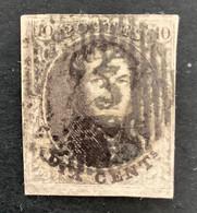 Medaillon 6 - 10c Gestempeld D73 EECKEREN - 1851-1857 Medaglioni (6/8)