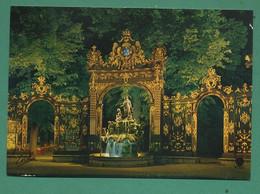 54 Nancy Place Stanislas Fontaine Amphitrite Sculpteur Guibal Grille De Jean Lamour 06 - Nancy