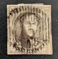 Medaillon 6 - 10c Gestempeld D15 PLASCHENDAELE - 1851-1857 Medaglioni (6/8)