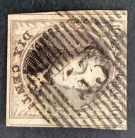 Medaillon 6 - 10c Gestempeld D53 MORIALME - 1851-1857 Medaglioni (6/8)