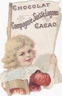 Chromo - Publicité -chocolats & Cacaos Compagnie Suisse - Pas Sur Delc. - Tres Bon état - Unclassified