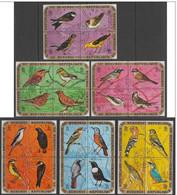 """BURUNDI - Oiseaux Divers (timbres """"séparés"""") - 1970-79: Oblitérés"""