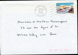 "N° 3019 (1996) - Obl. ""ondulations"" De Champagné (72) - 1961-...."