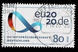 Bund 2020,Michel# 3554 O EU Präsidentschaft - Gebruikt