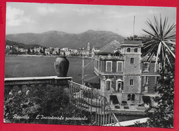 CARTOLINA VG ITALIA - RAPALLO (GE) - L'incantevole Porticciuolo - 10 X 15 - 1955 - Andere Städte