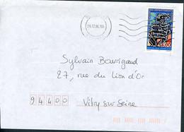 """N° 3036 (1996) - Obl. """"ondulations"""" De Pussay (91) - 1961-...."""