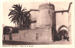 FR66 ILLE SUR TET - Porte De La Parayre - Animée - Altri Comuni