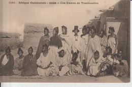 2114 FORTIER  Soudan Dames De Tombouctou  Coll Géné Fortier Dakar N°1287  Dos Bl  Fermée 25-04 - Sudan