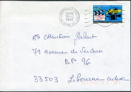 """N° 3040 (1996) - Obl. """"ondulations"""" De Gonfreville L'Orcher (76) - 1961-...."""