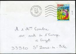 "N° 3043 (1997) - Obl. ""ondulations"" De Chabottes (05) - 1961-...."
