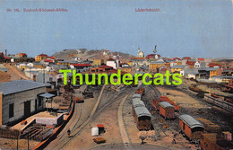 CPA LUDERITZBUCHT GARE TRAIN DEPOT STATION  DEUTSCH SUDWEST ARIKA DSW ARIQUE NAMIBIA NAMIBIE - Namibia