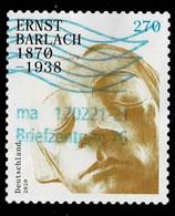 Bund 2020,Michel# 3521 O Ernst Berlach, Selbstklebend - Gebruikt