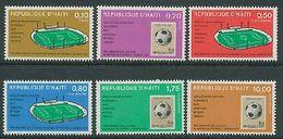Soccer World Cup 1974 - Football - HAITI - Set MNH - 1974 – West Germany