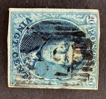 Medaillon 7 - 20c Gestempeld P32 DIEST - 1851-1857 Medaillons (6/8)