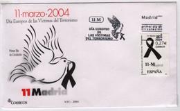 Sécurité, Terrorisme Journée Européenne Des Victimes Du Terrorisme 11 Mars 2004  Espagne FDC 2 Avril 2004 - Other