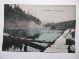 SENONES Vue Sur L'Etang Des Gouttes - 88 VOSGES - Senones