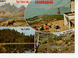 38 CHAMROUSSE, Lacs Robert Achard Luitel, Telepherique - Chamrousse