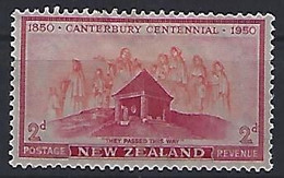 New Zealand  1950 Canterbury Centennial (*) MM  ACS.269 - Ungebraucht