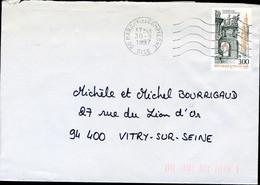 "N° 3080 (1997) - Obl. ""ondulations"" De Margny-lès-Compiègne (60) - 1961-...."