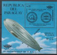 SPACE - Zeppelin - PARAGUAY - S/S MUESTRA MNH - Zonder Classificatie