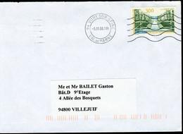 "N° 3109 (1997) - Obl. ""ondulations"" De Vitry-sur-Seine (94) - 1961-...."