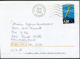 """N° 3113 (1997) - Obl.""""ondulations"""" De St Denis-de-Pile (33) - Tarif Pour Les USA - 1961-...."""