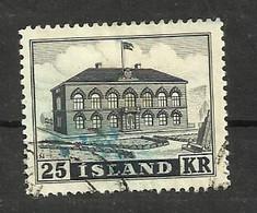 Islande N°238 Cote 20 Euros (202 à 205 Offerts) - Gebraucht