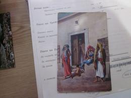 Arabe Etnics Old Postcards - Africa