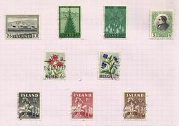 Islande N°277, 280 Cote 6.75 Euros (278, 279, 281 à 285 Offerts) - Gebraucht