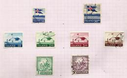 Islande N°287 Cote 10 Euros (286, 288 à 293 Offerts) - Gebraucht