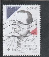 FRANCE 2020 - JACQUES CHIRAC OBLITERE - 2010-.. Matasellados