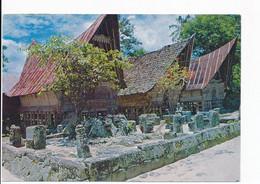Sumatra Utara - Rumah Adat Batak-Pulau Samosir-Danau Toba [AA49-5.752 - Indonesia