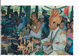 Bali Monk Leading A Religious Ceremony Besakih Temple [AA49-5.754 - Indonesia