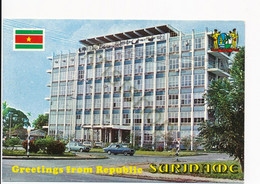Suriname - Stratenbouw [AA49-5.760 - Surinam