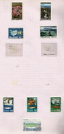 Islande N°400 à 403, 410 à 413 Cote 4.60 Euros - Gebraucht