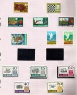 Islande N°416 à 421, 426 à 430 Cote 4.85 Euros (422, 423nc Offerts) - Gebraucht
