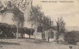 Bersac : Château Du Chambon - 1915 - Otros Municipios