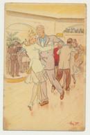 Carte Fantaisie - Collection Couples N° 3 Danseurs  - Illustrateur Hy.F - Unclassified