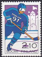 Finnland, 1991, 1130, MNH **,  Eishockey-Weltmeisterschaft. - Nuevos