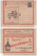 VIGNE - VIN / 1920'S ITALIE BLP SUR CARTE LETTRE AVEC DE TRES NOMBREUSES PUBLICITES / VOIR DETAIL (ref 1034) - Other